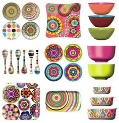Melamine for the Kitchen, Plates, Bowls and Platters, Oh my!