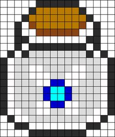 Navi In A Bottle bead pattern