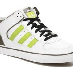 promo code 88a6d 7e0f0 New Adidas Culver Vulc Mid whitegreenbrown skateboard trainers