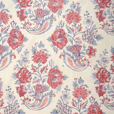 Cornucopia Floral, Prints, Cotton Cotton Blend, Print by Soane Britain Floral Fabric, Linen Fabric, Floral Prints, Hand Printed Fabric, Printing On Fabric, Flora Flowers, Ferrat, Indian Textiles, Fabric Design