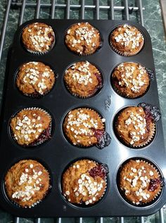 Muffins, Paleo, Health Fitness, Healthy Eating, Breakfast, Desserts, Recipes, Wellness, Foods