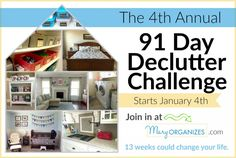 2016 Declutter Challenge – Starts January 4th!