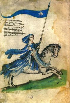 10 Medieval Women You Should Know More About - Medievalists.net. Barbara of Cilli shown in a copy of the Bellifortis