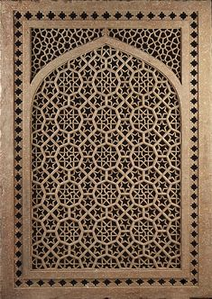Screen from India, Islamic, from the second half of the 16th century