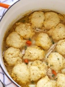Turkey and Dumplings | completelydelicious.com