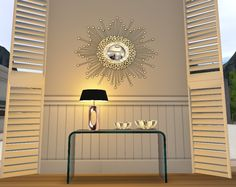 Gold Sunshine mirror -  Visit today and pick up some great freebies! http://maps.secondlife.com/secondlife/Purgatory/75/102/23