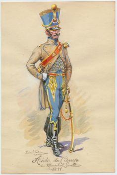 Henri Alexis Tholozè, Adc Maréchal Soult, Spain 1812