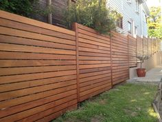 Image result for Horizontal Wood Fences 8 Feet