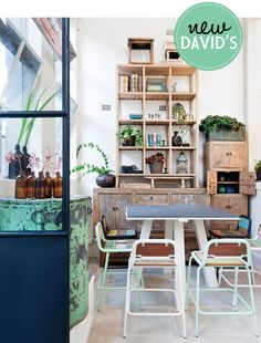 David's resto Melbourne...what I really like is the shelving, especially the cabinet to far right.
