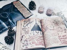 Imagen de gravity falls and book