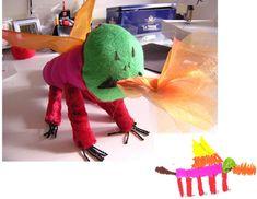 Crean peluches a partir de dibujos infantiles