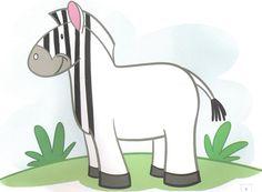 schrijfpatroon zebra