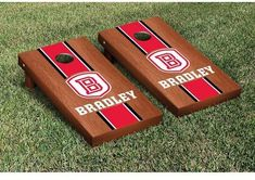 Tailgate Victory NCAA Stained Version Cornhole Game Set