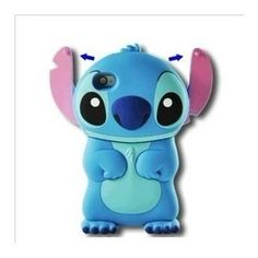 Disney Stitch Movable Ear Flip Hard Case Cover for Iphone Xmas gift - It's better than your expect, it is better than others. Product Features Brand new Lilo and Stitch hard case for Apple iPhone and 4 Made with excellent craftsmanship Iphone Cases Disney, Iphone 4 Cases, Iphone 3, Iphone Hard Case, Cute Phone Cases, Coque Iphone, Apple Iphone, Pink Iphone, Phone Covers