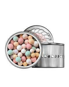 Guerlain Meteorites Pearls: Great for a radiant boost. Just swirl the pearls, brush on, and voila!
