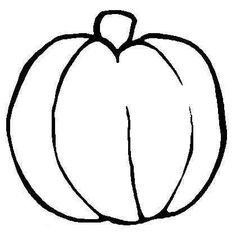 Free pumpkin coloring sheet | Education - October | Pinterest ...