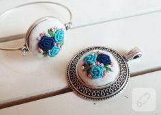 Rokoko çiçekli takılar