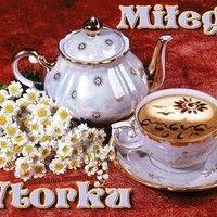 Miłego Wtorku Sugar Bowl, Bowl Set, Tea Pots, Jar, Tableware, Food, Decor, Facebook, Pictures