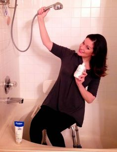 showering after brain surgery