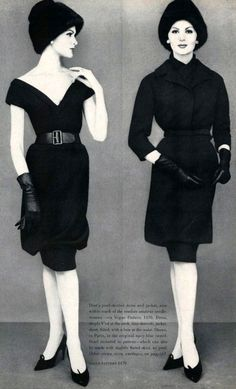 Yves Saint Laurent - Articles de Presse - Dior - Magazine Vogue - 1960