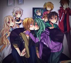 Kagerou Project KIdo x Kano almost kiss