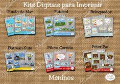 Kits Digitais Personalizados Aniversário Free para Imprimir - Convites Digitais Simples