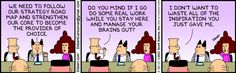 Dilbert comic strip for 03/30/2013 from the official Dilbert comic strips archive.