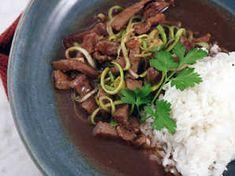 Kinesisk biff med sötsur sås | Recept från Köket.se Tofu, Beef, Meat, Ox, Ground Beef, Steak