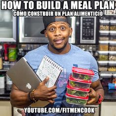 "Part 2 of my YouTube series is now LIVE🙌 and today's topic - ""How to Build a Meal Plan"" plus my views on portion control and calorie counting. Click the link in my profile to view or go to FitMenCook.com, also to get the charts and links I reference in the video. The video has 3 main parts: 1) my rules to meals; 2) Portions & calories; 3) 5 steps to build a plan. 👉For beginners, I recommend watching the entire video. 👉For advanced, I recommend parts 1 and 3. Hope you all enjoy the video…"