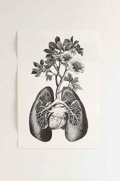 Cirque D'Art Lungs Art Print $26- Urban Outfitters