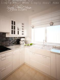 Scandinavian kitchen in Poland, Wrocław by Magdalena Szulc at Coroflot.com