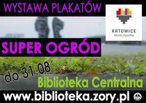 """Wystawa """"SUPER OGRÓD"""" w Bibliotece"""