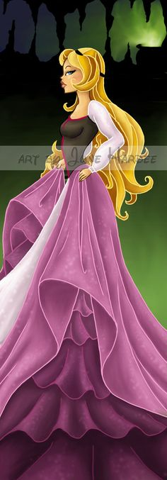 Beautiful Princess Eilonwy piece by #JuneHardee