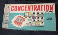 Concentration Game, brings back memories  http://www.etsy.com/listing/70873949/vintage-concentration-board-game-thrid
