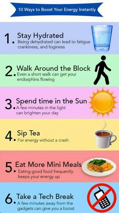 Some good healthy tips for energy. http://cncnc11.myplexusopportunity.com/10-reasons-to-try-the-plexus-products