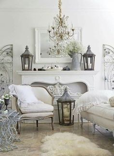 Cozy French Country Living Room Decor Ideas 06