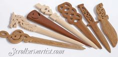 Scroll Saw Patterns :: Handy items :: Letter openers -