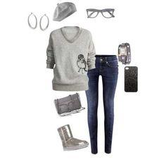 LOVE THIS! I love gray!