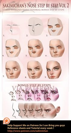 Nose step by step Vol 2 tutorial (term 5 reward)