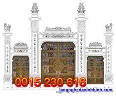 Mẫu cổng đá đẹp - Các mẫu cổng đình làng đẹp bạn không nên bỏ qua Taj Mahal, Building, Travel, Viajes, Buildings, Destinations, Traveling, Trips, Construction