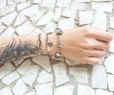 Mix de pulseiras níquel