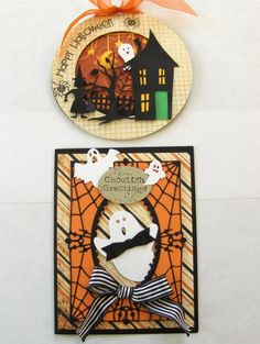 2 Cards for Maggi's Trick or Treat Class being offered on Thursday, September 26 from 1:00 - 4:00 or from 6:00 - 9:00.