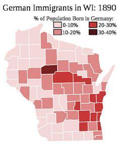 Germans immigrants in Wisconsin1890. #Germans #Wisconsin