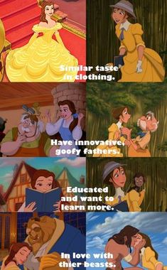 The similarities of Disney's Jane and Belle. Are they more than coinciden… – Disney Memes Walt Disney, Disney Pixar, Disney Jane, Disney Marvel, Cute Disney, Disney And Dreamworks, Tarzan Disney, Peter Pan Disney, Disney Villains