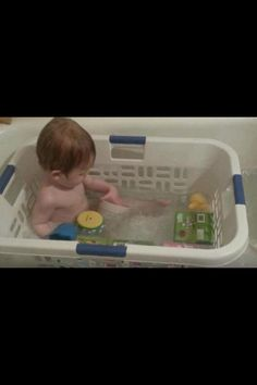 Such a great idea! Their toys dont float away, they have more of a grip then they would with just the slick tub and can pull themselves up easier.