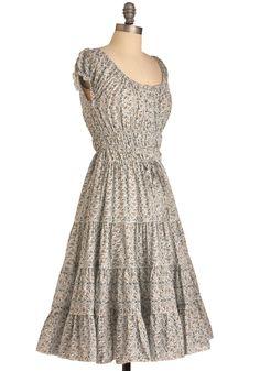 Prairie Home Dress | Mod Retro Vintage Dresses | ModCloth.com