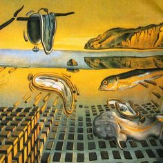 """Disintegration of Memory"" by Salvador Dali"