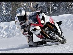 Stop whining about never getting to ride during the winter! Maybe you just need new tires...