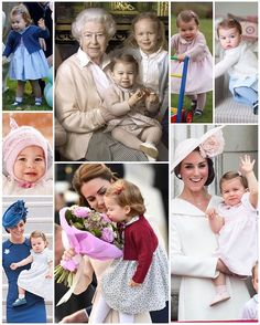 Princess Charlotte in 2016 ❤ Many express that they think The Duchess of Cambridge dresses her children as though they have stepped out of… Royal Princess, Prince And Princess, Princess Diana, Duchess Kate, Duke And Duchess, Duchess Of Cambridge, Princesa Charlotte, English Royal Family, British Royal Families