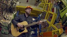 "After the musician learned that grad students at CERN had created a parody of his 2004 single ""Collide,"" he flew to Switzerland to sing it at the LHC."